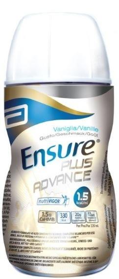 Abbotte Ensure Plus Advance vaniglia 4x220 ml