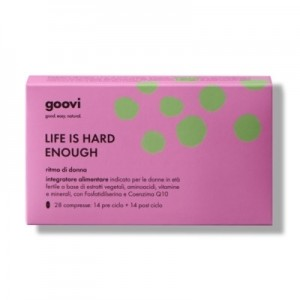 The Good Vibes Company Goovi Life Is Hard Enough Ritmo Di Donna 28 Compresse