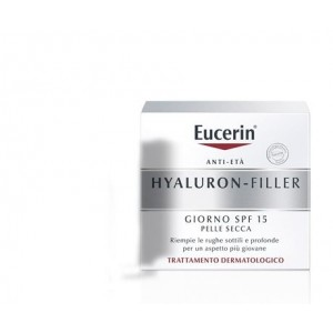 Eucerin Hyaluron-Filler Crema Giorno Spf 15 Pelle Secca 50ml