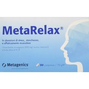 Metarelax Integratore alimentare stress, stanchezza 90 compresse