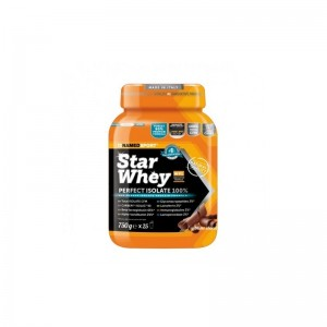 Named Sport Star Whey PERFECT ISOLATE 100% Proteine Gusto Sublime Chocolate 750gr