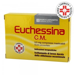 Euchessina C.M.*18 Compresse Masticabili