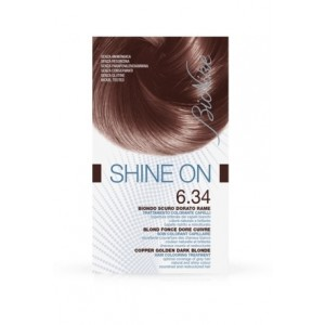 Bionike Shine On Trattamento Colorante Capelli - 6.34 Biondo Scuro Dorato Rame -