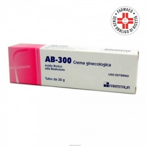 AB 300* crema ginecologica 1% 30gr