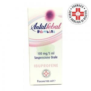 Antalfebal* sciroppo bambini 100 mg/5 ml