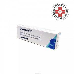 Crystacide* crema dermatologica 25gr 1%
