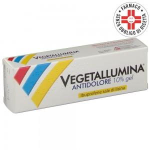 Vegetallumina Antidolore* Gel 10% 50gr