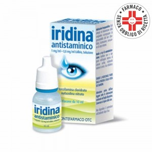 Iridina Antistaminico* Collirio 10+8mg 10ml