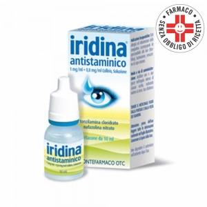 Iridina Antistaminico* Collirio 10+8mg 10ml