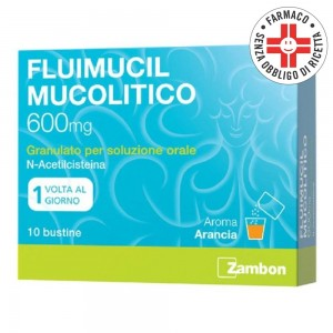 Fluimucil Mucolitico* 10 Bustine per soluzione orale 600mg