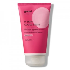 The Good Vibes Company Goovi If Skin Could Smile Crema Corpo Sweet Orange 150ml