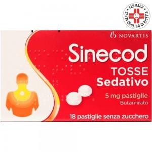 Sinecod Tosse Sedativo*18 Pastiglie 5mg