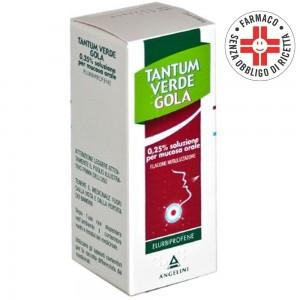 Tantum Verde Gola* Spray Nebulizzatore 15ml 0,25%