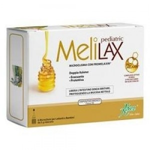 Aboca Melilax pediatrico 6 microclismi 5 grammi