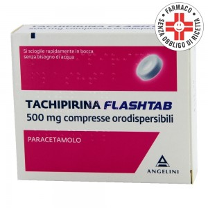 Tachipirina Flashtab*16 compresse 500mg