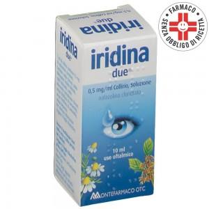 Iridina Due* Collirio 10ml 0,5mg/ml