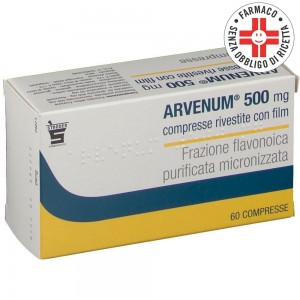 Arvenum* 60 compresse rivestite 500mg