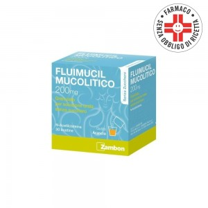 Fluimucil Mucolitico * 30 Bustine 200mg