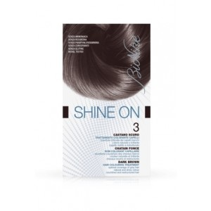 Bionike Shine On Trattamento Colorante Capelli - 3 Castano Scuro -