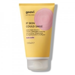 The Good Vibes Company Goovi If Skin Could Smile Crema Corpo Karitè Vanilla 150ml