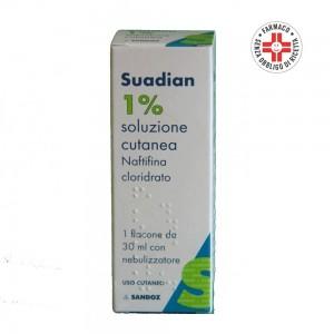 Suadian* soluzione cutanea 30ml 1% con nebulizzatore