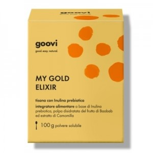 The Good Vibes Company My Gold Elixir Goovi Tisana Con Inulina Probiotica 100gr.