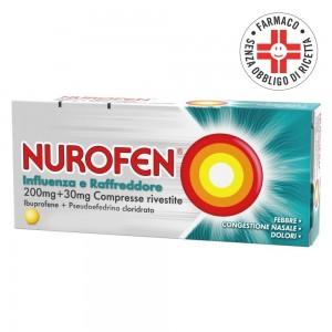 Nurofen Influenza e Raffreddore* 12 Compresse