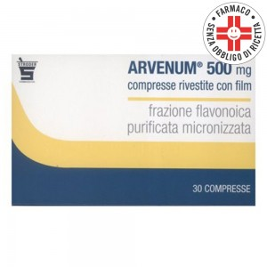 Arvenum 500* 30 Compresse rivestite 500mg