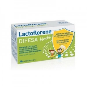 Lactoflorene Difesa Bimbi 10x10 ml flaconcini