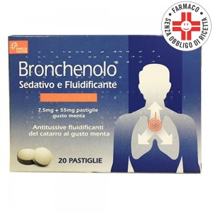 Bronchenolo Sedativo e Fluidificante* 20 pastiglie