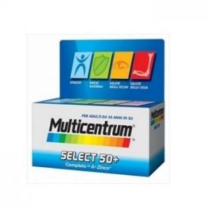 Pfizer Multicentrum select 50+ 30 compresse