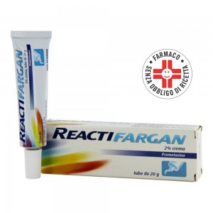 Reactifargan* Crema 20gr 2%