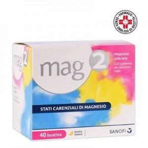 Sanofi Mag2 Magnesio Pidolato 40 bustine  da 2,25g