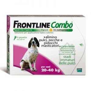 Frontline Combo Spot-On Cani 20-40 Kg 3 pipette 2,68ml