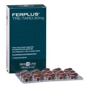 Biosline Ferplus Tre-tard 30mg 30compresse