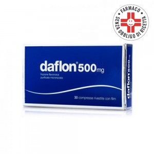 Daflon* 500mg 30 compresse rivestite