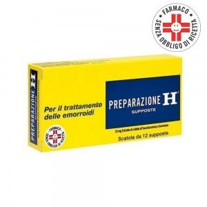 Preparazione H* 12 Supposte 23mg