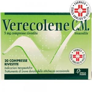 Verecolene C.M.* 20 Compresse Rivestite 5mg