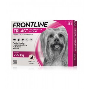 Frontline Tri-Act 3 Pipette 2-5 Kg