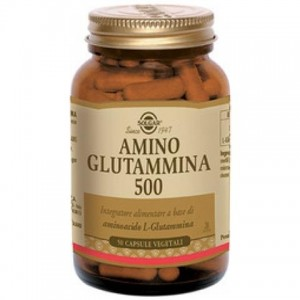 Amino glutammina 500 50cps veg