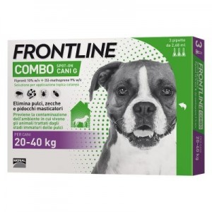 Frontline Combo Spot On Cani Grandi 3 pipette