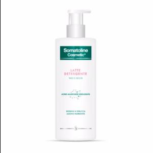 Somatoline Cosmetic Latte Detergente Viso e Occhi con Acido Ialuronico Idrolizzato 400 ml