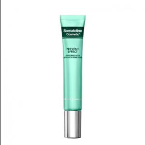 Somatoline Cosmetic Prevent Effect Contorno Occhi Anti-fatica Prime Rughe 15 ml