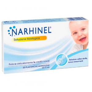 Narhinel Soluzione Fisiologica per Aspiratore Nasale 20 fiale da 5ml