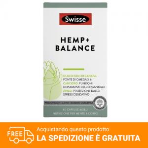 Swisse Hemp + Balance 60 capsule