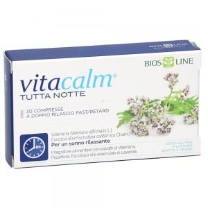 Bios Line Vitacalm Tutta Notte Fast/Retard 30 compresse