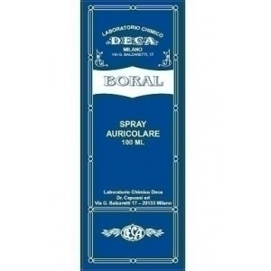 Boral spray auricolare 100 ml