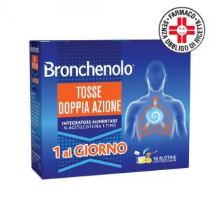 Perrigo Bronchenolo Tosse Doppia Azione 10 bustine