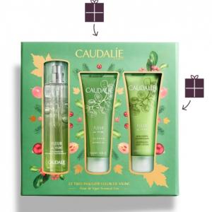 Caudalie Cofanetto Fleur De Vigne 2020: Profumo 50ml + Crema Corpo 50ml + Gel Doccia 50 ml
