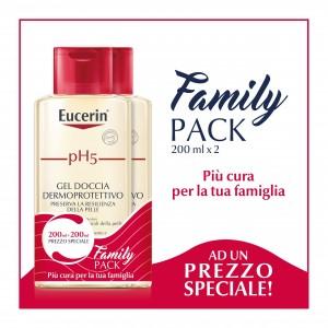 Eucerin pH5 Gel Doccia Dermoprotettivo Pack 2 x 200 ml